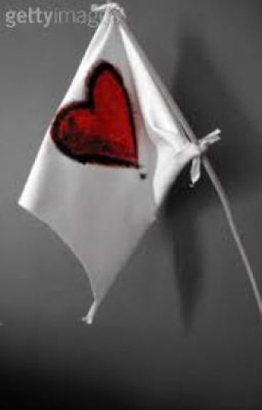 White Flag for our love. ( A sign of giving up)