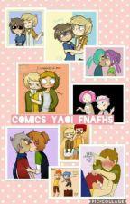 Cómics Yaoi FNAFHS by nya1609