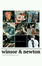 winsor & newton    yoon.min by powerpuffkorean