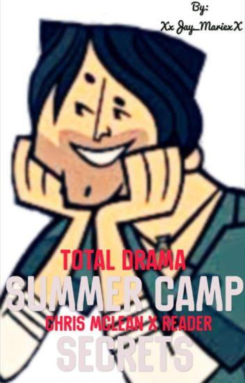 Total Drama) Summer Camp Secrets: Chris McLean x Reader