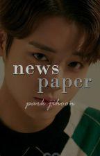 newspaper ❣ Jihoon by baerigood