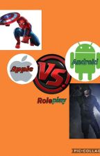 Apple vs Android roleplay by PercyJackson_Nerd