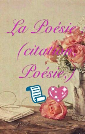 La Poésie Citation Poésie En Pause Le Cœur N