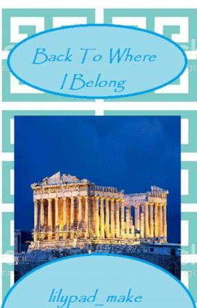 Back to where I belong - A Percy Jackson Fan fiction by lilypad_make