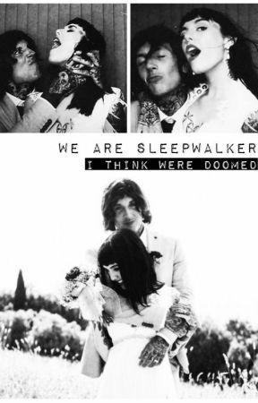 Wearesleepwalker- Hannah Snowdon and Oliver Sykes by wearesleepwalker