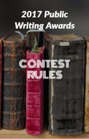 2017 Public Writing Awards (JUDGING) by PublicWritingAwards