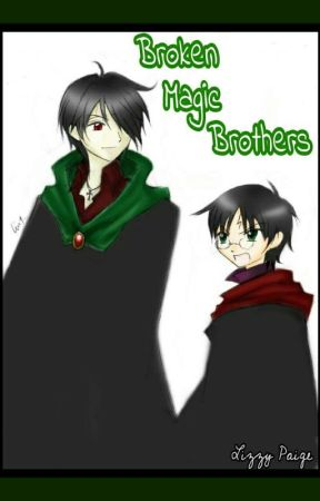 Broken Magic Brothers by CrazyBookworm1997