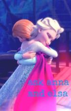 ask  anna and elsa by mermaidessy