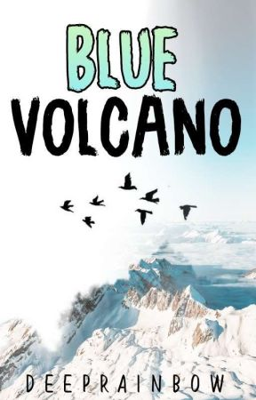 Blue Volcano  by DeepRainbow
