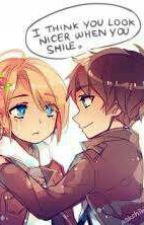 (Eren X Annie) You Look Nicer When You Smile by DeadEyesFish