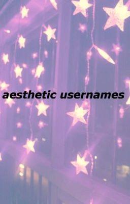 Aesthetic Usernames Iovefairy Wattpad