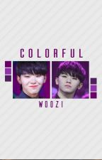 Colorful ✧ Woozi by Maria_Biscoita