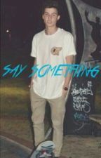 Say Something (Shawn Mendes fanfic) by Directionerforevergb