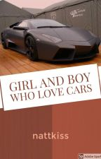 Girl and Boy who love cars by nattkiss