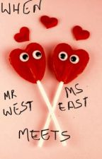 Mr. West Meets Ms.East by user47628852