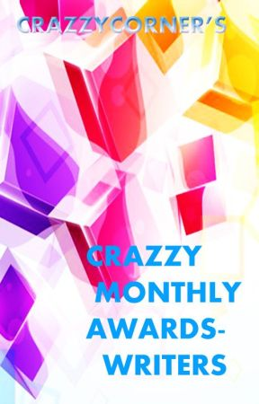 Crazzy Monthly Awards - For Writers by CrAzZYcOrNeR