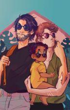 Remus, Sirius And Little Harry by 0Sladka_Droga0