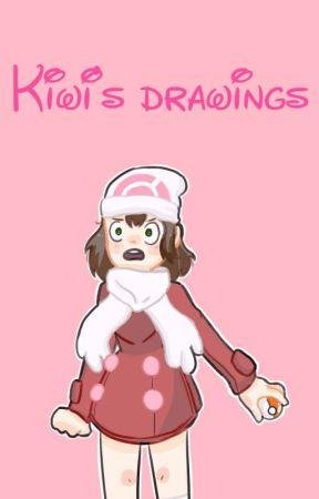 Kiwi's Drawings by -Iwik-