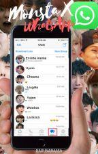 Monsta X WhatsApp by HaruNanase6