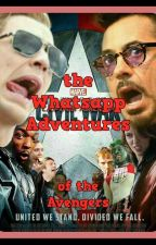 the WhatsApp adventures of the Avengers X Reader by Boobearpiquante