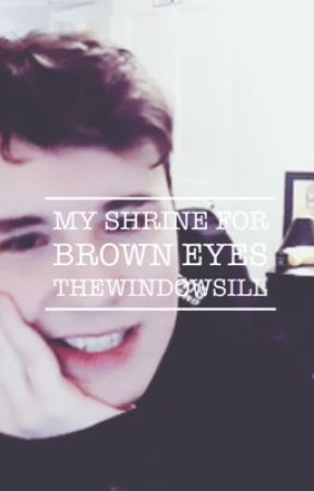 my shrine for brown eyes by TheWindowSill