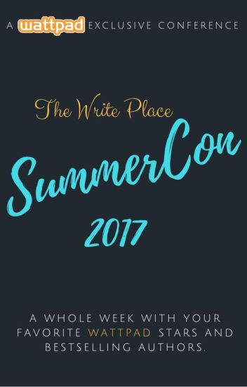 The Write Conference 2017 (SummerCon 2017)