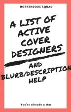 Active Cover Designers by Ms_Horrendous