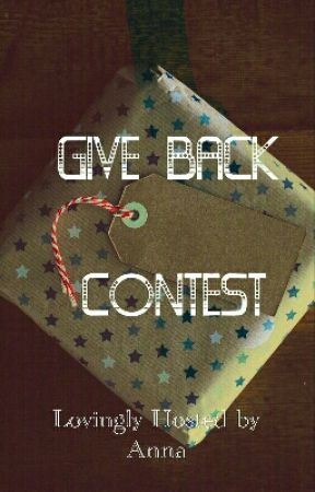 Give Back Contest by AMLKoski