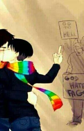 I hate gays, I think..  by notemojustgoth