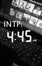 INTP Book by _Juceyst_69