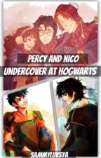 Percy and Nico Undercover at Hogwarts by Sammyluvsya