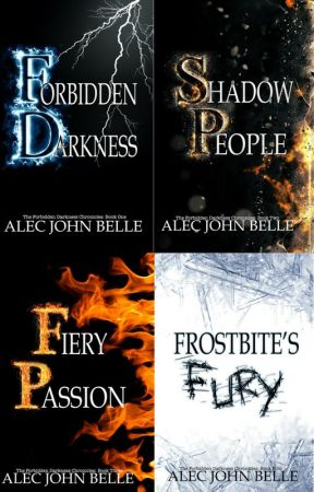The Forbidden Darkness Chronicles (Books 1-4) by AlecBelle