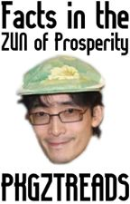 Facts in the ZUN of Prosperity: A Touhou Facts Book by PKGZTREADS