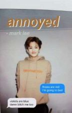 annoyed   mark lee✔ by minghao_biased