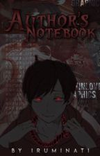 Author-kun's Notebook by MysteriousNekoKun