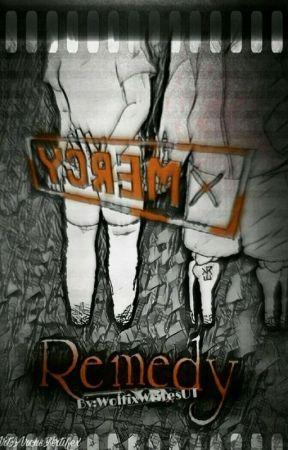 Remedy (DustTale Sans x Frisk) by WolfixWritesUT