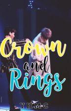 Crown and Rings  by YaniHasMochiCheeks