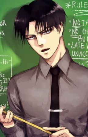 The mean teacher Ereri/Riren by NuraNuraPop