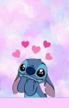 Fondos de pantalla de stitch de amor