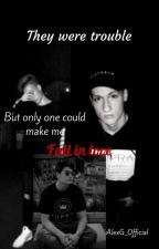 They were trouble(FanFiction Cristi,Vlad Munteanu și Selly) by AlexG_Official