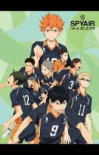 {Share of Misfortune} Haikyuu!! x Male OC by RyuShinawa