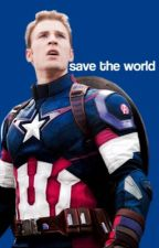 save the world  ➵ marvel gif imagines by bookhelps