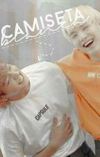 Camiseta blanca - YoonKook by karirin20