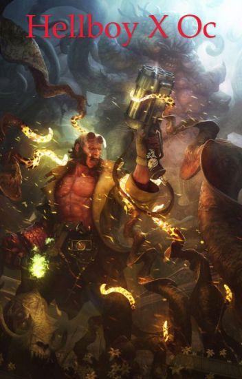 Hellboy x Oc