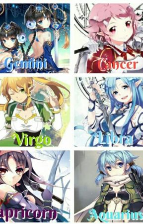 Anime Zodiac Book