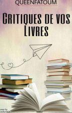 Je critique et Conseil vos romans by QUEENFATOUM