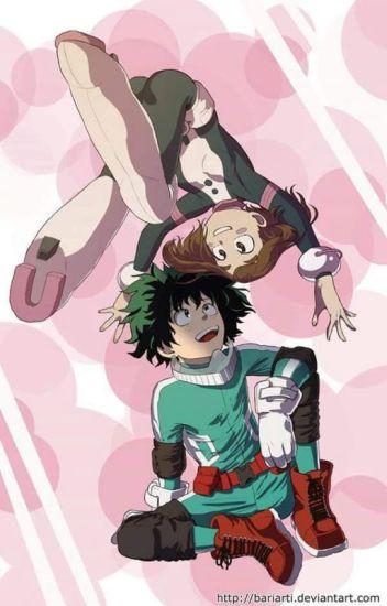 the hero and his heroine(izuku x ochako fanfic series