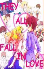 They All Fall In Love Aikatsu Star by Dark_Yume