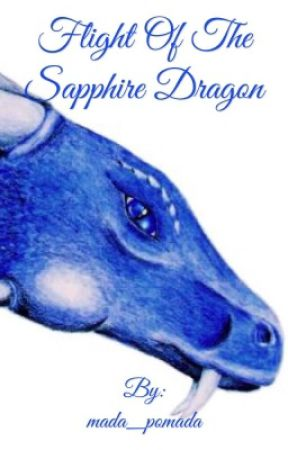 Flight Of The Sapphire Dragon  by mada_pomada