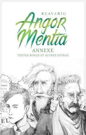 Angor Mentia : Textes bonus et autres extras by Reavario
